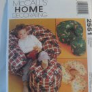 McCall's  Home Decor - Children's Chair and Ottoman 2551