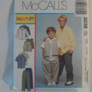 McCall's  Boy's Shirt,vest and Pants Pattern 3539- New ,size  7,8,10