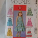 McCall's  Girl's Dress Pattern 4817- New ,size  2,3,4,5