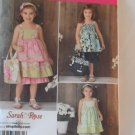 Simplicity Girl's Dress,Top,Pants and Bag Pattern 2171- New ,size 3,4,5,6,7,8