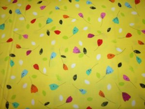 Floralicious Cotton Fabric  from Benartex 1/ 2 yd