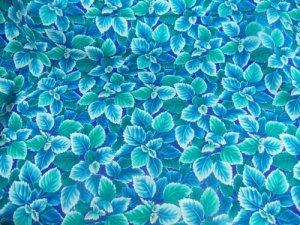 Flower Mart Tropical  Cotton Fabric  from Benartex 1/ 2 yd
