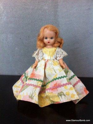 Vintage Doll with Sleeping Eyes