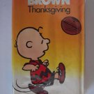 Peanuts: A Charlie Brown Thanksgiving VHS Videocassette Vintage Tape