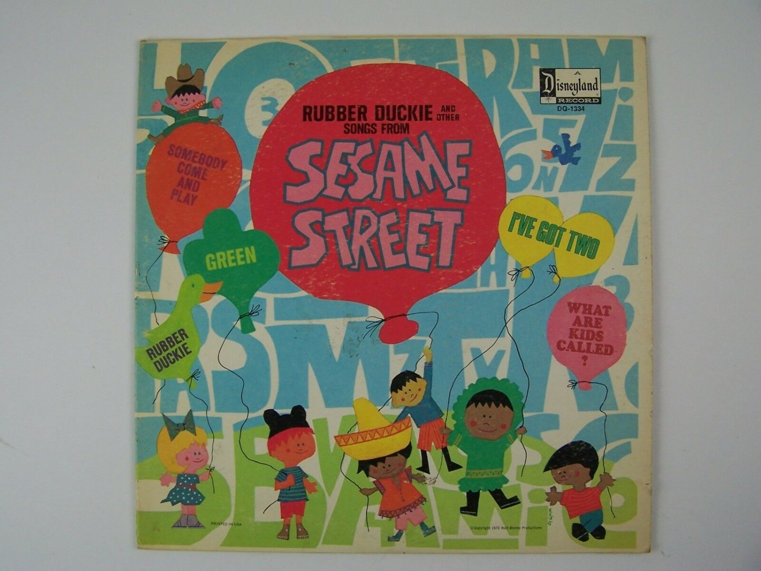 Sesame Street - Rubber Duckie And Other Songs From Sesame Street Vinyl LP Record