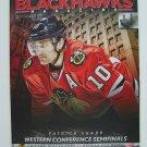 Chicago Blackhawks Magazine Patrick Sharp Cover 2012-13 Western Conf Semi-Finals