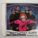 The Benjamin Gate All Over Me Maxi Single CD Signed Autographed