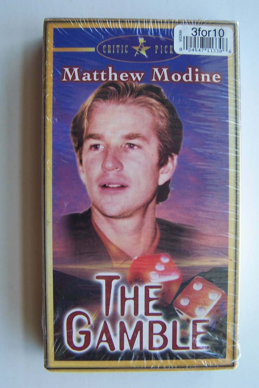 The Gamble VHS Video Tape