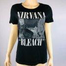Nirvana Bleach Womens M Graphic T Shirt