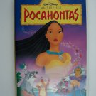 Walt Disney's Masterpiece Pocahontas VHS Video Tape