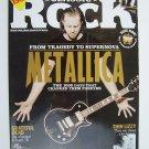 Classic Rock Magazine October 2008 #124 James Hetfield of Metallica Cover