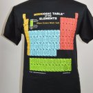 Beeriodic Table Of The Elements Beer Shirt Graphic T Shirt M Black Periodic