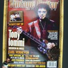 Vintage Guitar Magazine August 2009 Tony Iommi Cover