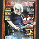 Vintage Guitar Magazine January 2010 Jerry Garcia Cover