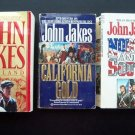 John Jakes Paperback Novel Book Set