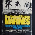 United States Marines, 1775-1975 by E. H. Simmons (1976, Hardcover)