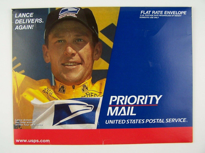 USPS / Lance Armstrong Priority Mail Envelope 2000 Tour de France Winner Commemo