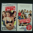 American Pie 1 & 2 VHS Video Tape Lot