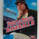 "Tony LaRussa Baseball II PC Game 3.5"" Diskettes Vintage"