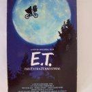 E.T. - The Extra-Terrestrial VHS Video Tape Movie Steven Spielberg BOB Lot