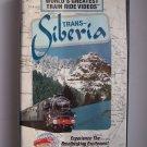 World's Greatest Train Ride Videos Trans Siberia VHS Video Tape