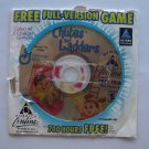 America Online AOL 6.0 Chutes & Ladders Full-Version Game Disc