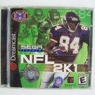 Sega Dreamcast NFL 2K1 Video Game