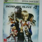 Dead or Alive 4 Xbox 360 Prima Official Game Guide Paperback