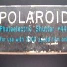 Polaroid Photoelectric Shutter Model 440