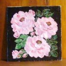 Floral Painting Bunch of Pink Roses Original Oil Painting