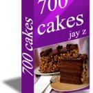 700 WONDERFUL & DELICIOUS CAKE RECIPES
