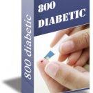 800 DELICIOUS DIABETIC RECIPES eBook
