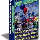 100+ DELICIOUS COUNTY FAIR RECIPES eBook