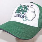 NOTRE DAME FIGHTING IRISH NCAA STRETCH FIT MESH HAT TOP OF THE WORLD OLDER LOGO