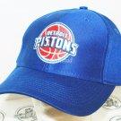 DETROIT PISTONS - ADIDAS NBA BASKETBALL BLUE CLASSIC LOGO & STYLE CAP HAT NEW
