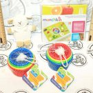 4 LOT - BABY CLOUD-B SLEEP SHEEP RATTLE SESAME STREET STACKING CUP GAME FOOD MAT