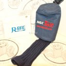 NGC DRIVER CLUB 3 PROTECTIVE COVER GOLF HEADCOVER & R-BAG ACCESSORY POUCH