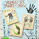 ALEX BEARD MONKEY SEE DRAW EDUCATIONAL MULTILINGUAL 8X10 FLASH CARD TOY GAME NEW