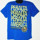 PERALTA - SOCCER COPA AMERICA KIDS YOUTH SMALL BLUE SHIRT CLUB DE FUTBOL  2016