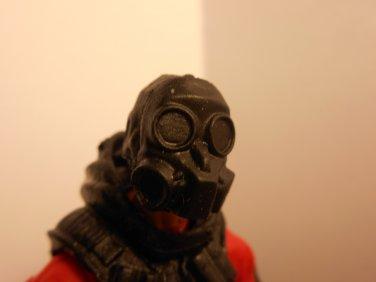 Gas mask head