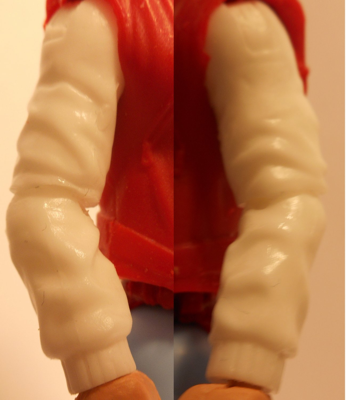 elastic cuffed coat sleeves