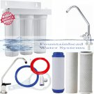 FOUNTAINHEAD 3 STAGE FILTER -SED/FLUORIDE/ARSENIC/CARBON BLOCK FAUCET CHOICE