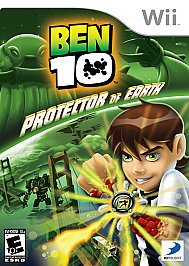 """Wii Game: Ben 10 """"Protector of Earth"""""""