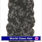 """18"""" Indian Remy Loose Curly Machine Hair Wefts, 2 packs, 8 oz"""