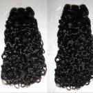 "18"", 20"", 22"" Virgin Brazilian Deep Curly Machine Hair Wefts, 3 packs, 12 oz"