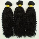"""16"""" Virgin Malaysian Tight Afro Curly Machine Hair Wefts, 2 packs, 8 oz"""