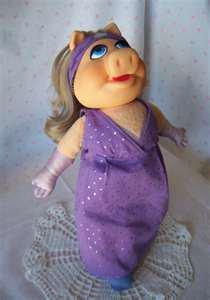 Miss Piggy Dress Up Doll