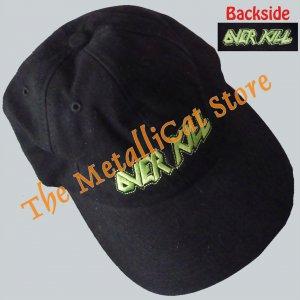 CAP OVERKILL Band Logo Killbox 13 EMBROIDERED THRASH METAL CD