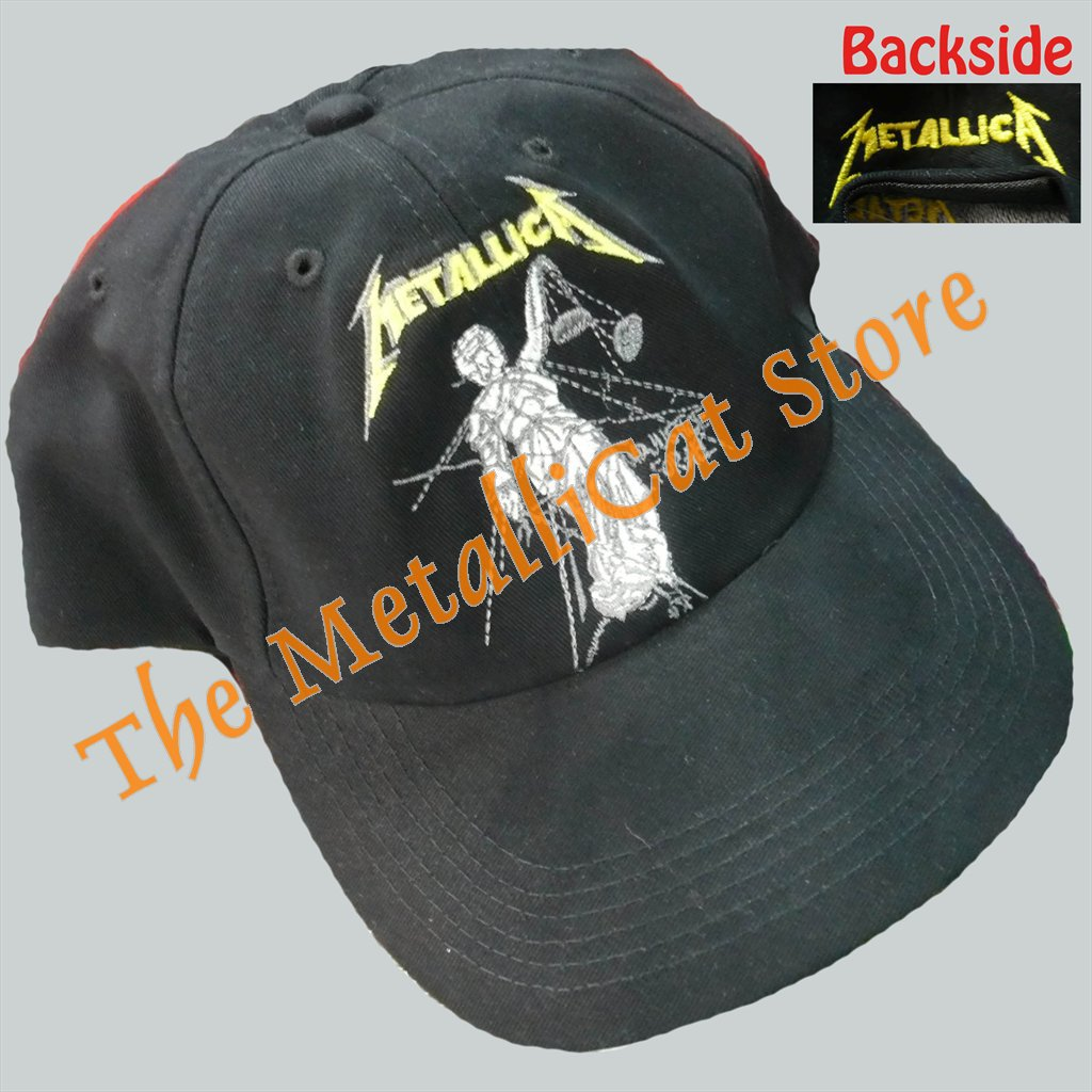 CAP METALLICA Justice for All EMBROIDERED THRASH METAL CD