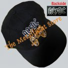 CAP AC/DC For Those About to Rock EMBROIDERED HARD ROCK CD